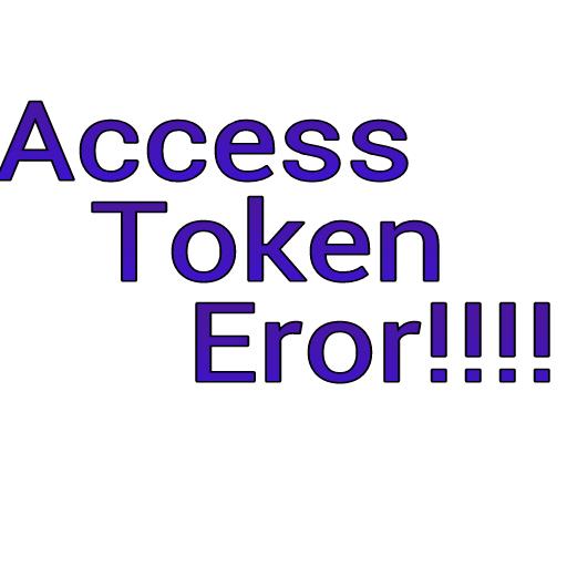 Caranya Mengambil Access Token Yang Eror